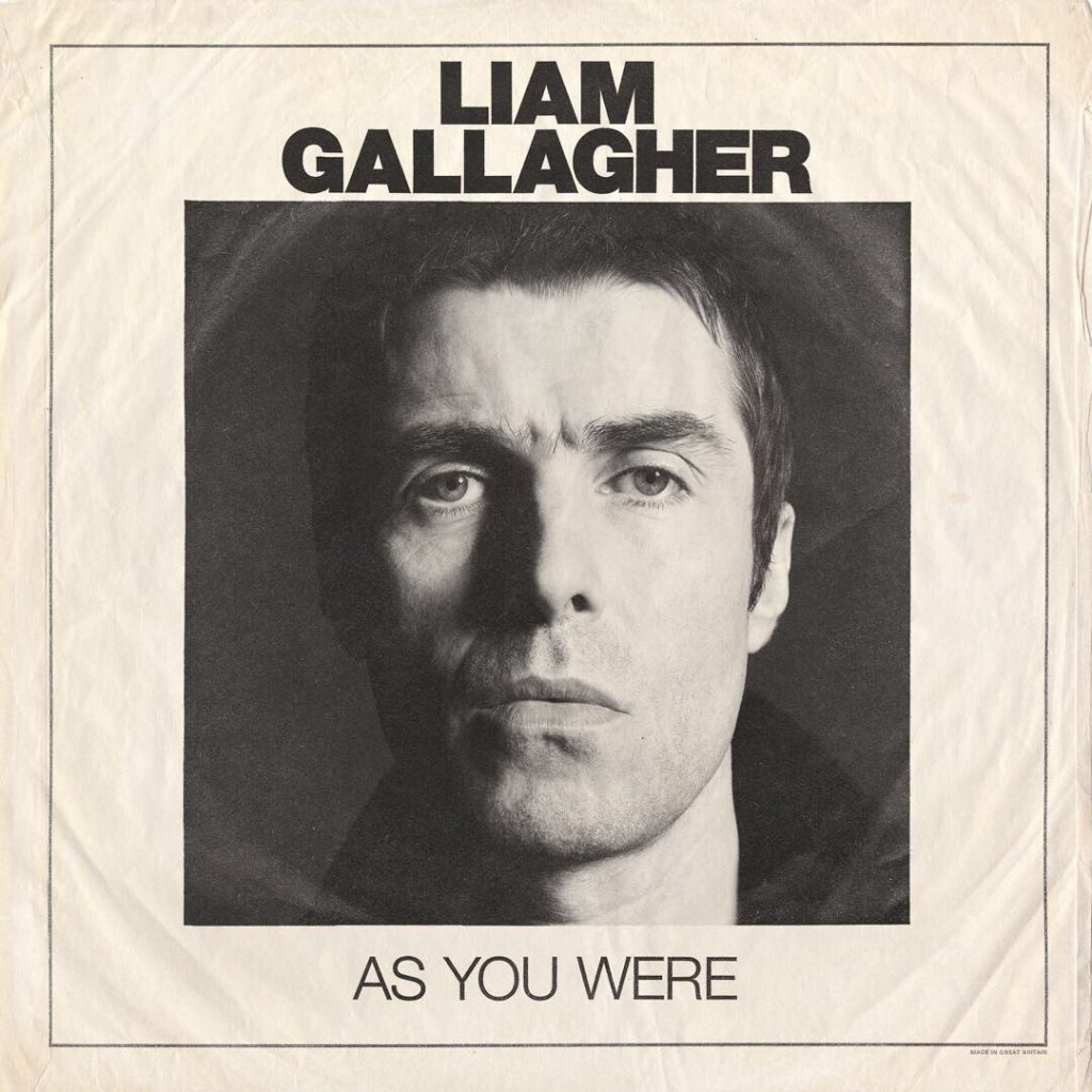 Liam Gallagher As You Were Warners The 13th Floor