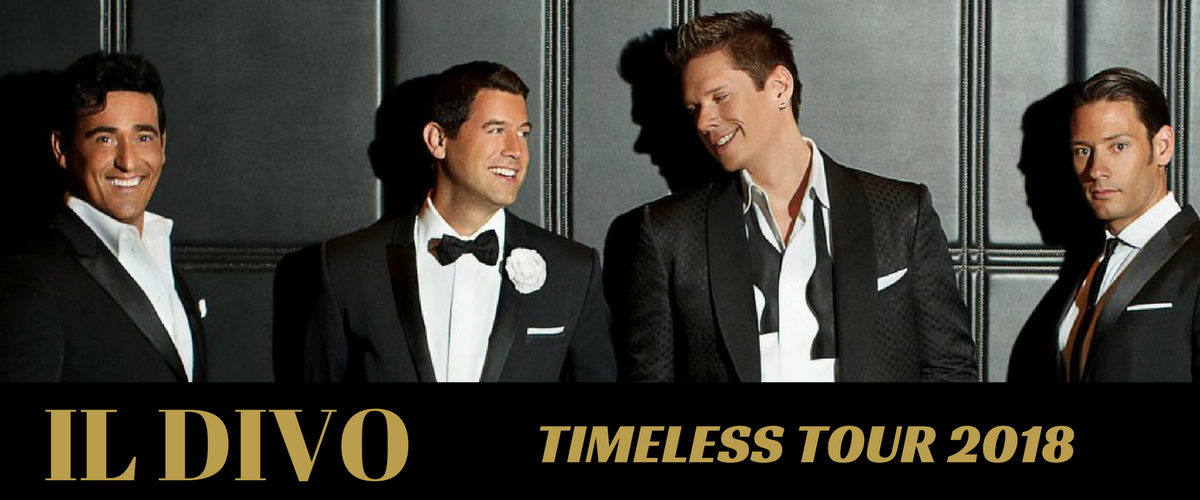 Superstar group il divo to perform one nz concert in - Il divo tickets ...